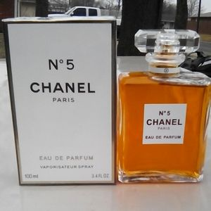 Brand New Chanel N°5 E.D.P. 3.4oz Never Opened